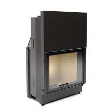 АСТОВ КC 8057 - Мощная стальная топка со стеклянной подъемной дверцей