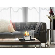 BIOART Marsel - Мини-камин с боковыми вставками из стекла