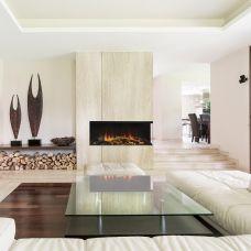 New Forest 850 (Нью Форест) - электрический камин с Г-образным стеклом