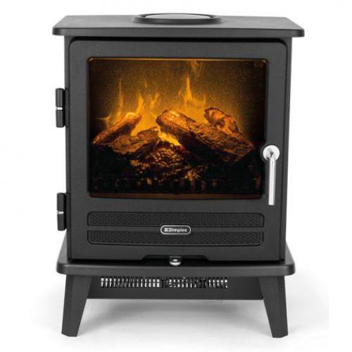 Dimplex Willowbrook - напольная печка с эффектом пламени Opti-Myst