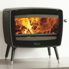 Dovre Vintage50 - Элегантная дровяная печь с широким стеклом