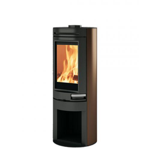 TALLY - дровяная печь с прямым термопрочным стеклом
