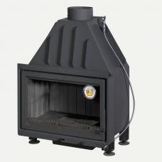 Альфа 700B (200 мм) -  Прямая каминная топка с черной футеровкой