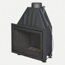 Альфа 800B - Топка с высоким дымосборником, черный шамот