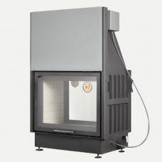 ЭкоКамин Вега 800T - Топка со сквозным жаростойким стеклом, цельносварной корпус