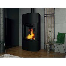 Ember Гордана 480 L+ - Пристенная печь-камин с большим фасадным стеклом