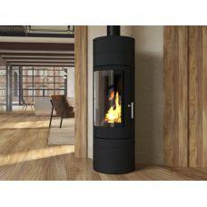 Ember София 552 XL+ - Высокая современная печка с корпусом из жаропрочной стали