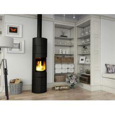 Ember Olja 2G - Цилиндрическая печь-камин с корпусом из окрашенной стали