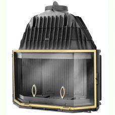 DECO 1000 BR - топка-вставка из чугуна с латунной рамкой