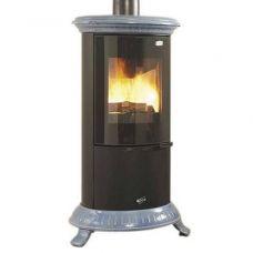 Godin Novellus (Новеллюс) модель 400176 - Чугунная печь со стальной отделкой
