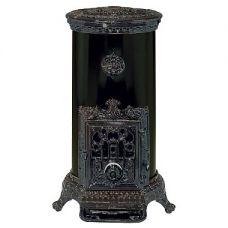 Godin Petit Godin (Петит Годэн) модель 3727 - Чугунная печка с цветной ажурной д..
