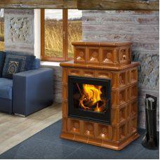 BARACCA 4 керамика - современная печка для большого дома