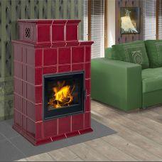 BARACCA 9 керамика с теплообменником - каминная печка на дровах