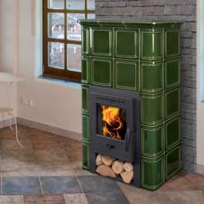 CATANIA 1 H - экономичная печка с дровяной мощной топкой