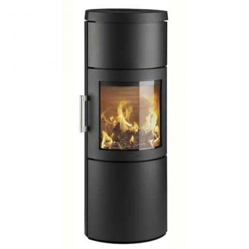 3130C - классическая печка с дровяной камерой, черная