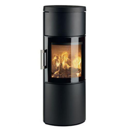 3130M - печь с большим панорамным стеклом, черная
