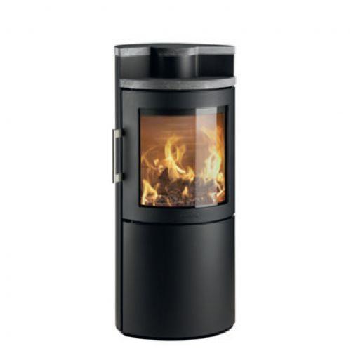 3220C - печка с каменной верхней плитой, стальной корпус