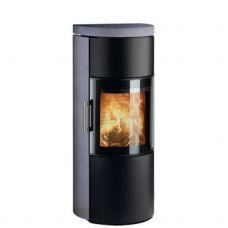 3520M - мощная дровяная печка, серый песчаник