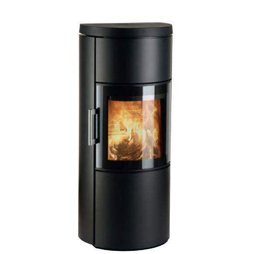 3520M - отопительная печь круглая, нержавеющая сталь