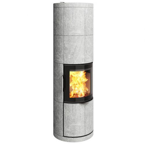 7180M - современная печь из стали и камня