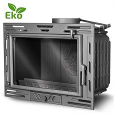 Kaw-Met W9A EKO - Чугунная топка-вставка с прямым стеклом, с шибером