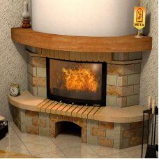 Аватара 700 - модель угловой облицовки из камня
