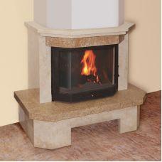 Малага 700 - модель каминной облицовки под призму