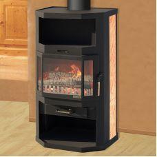Ангара - Экономичная печка с большим отсеком для дров