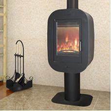 Луара - Дизайнерская печка на круглой ноге-подставке
