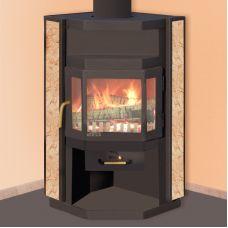 Нева - Современная печка для установки в угол