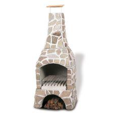 Norman PALEO - Дизайнерская печь из натурального камня