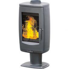 Plamen ARIA - Чугунная печь на подставке, серая