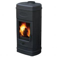 Plamen AURORA - Дровяная печка из стали с покрытием черного цвета