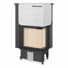 Romotop Impression R/L 2G L 58.60.34.21 - модель топки с угловой стеклянной дверкой