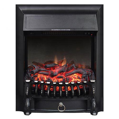 Fobos FX M Black - декоративный очаг с реалистичным пламенем