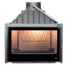 Seguin VISIO 7 BLACK LINE - Чугунная топка-вставка с широким жаропрочным стеклом