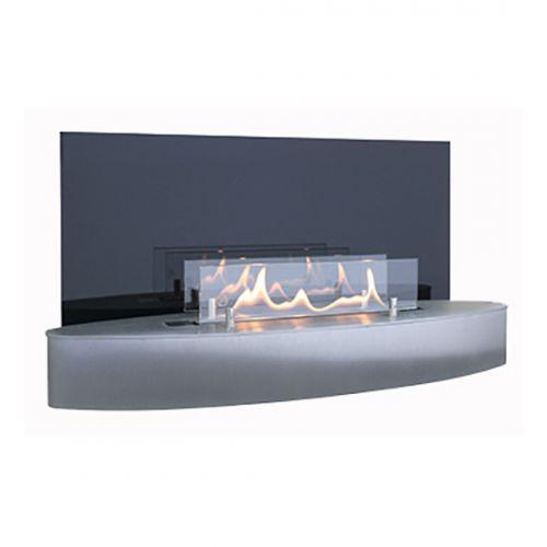Elipse Wall Mini - настенный биокамин с защитным стеклом