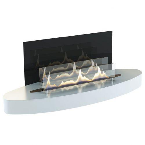 Elipse Wall - декоративный камин с биотопкой