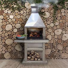 Tiana (L) - печь-барбекю из армированного бетона