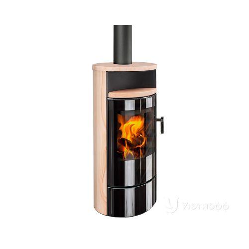 ASKJA EX песчаник - дровяная печь с мощной топкой