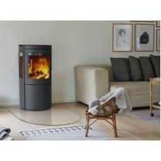 Varde Bolton - Современная печь-камин с боковыми стеклами