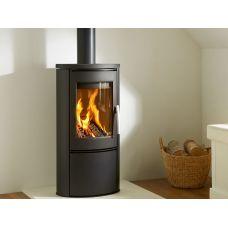 Varde Shape 2 - Современная печка из стали с чугунной дверкой