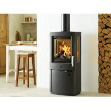 Varde Uniq 1 - Трехсторонняя печка с дровяной топкой