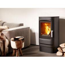 Varde Fuego 2 - Невысокая стальная печка с большим стеклом