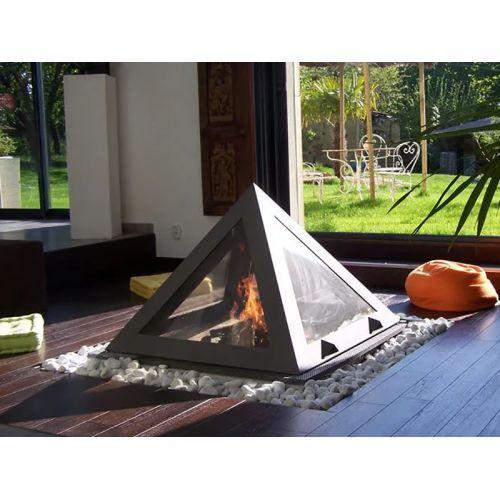 Arkiane Kephren (Кепрен) - Пирамидальный камин в стиле hi-tech
