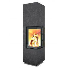Monolith Rock L1XL - Пристенно-угловая камин-печь с мощной топкой