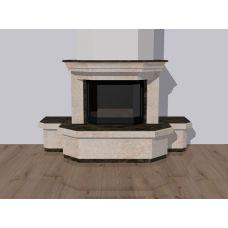 Проект 2 - Модель современного каминного портала