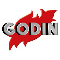 Godin (Франция). Отопительное оборудование из чугуна с декоративным оформлением.