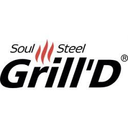 Grill'D (Россия) - дизайнерские печи из жаропрочной стали с открытой каменкой