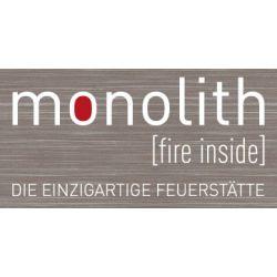 Monolith (Германия). Немецкие камины с отделкой из обработанного натурального камня.